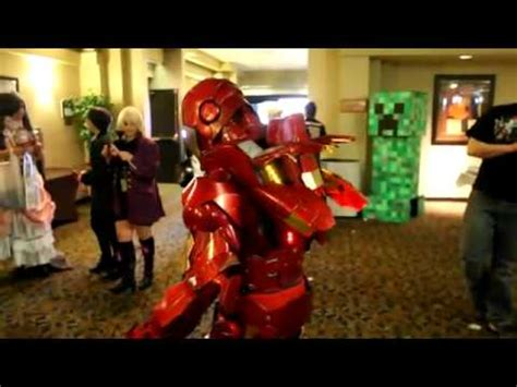 awesome iron man cosplay costume youtube