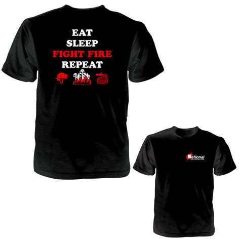 Tshirt Eat Sleep Work 11 quot way of quot eat sleep fight repeat t shirt
