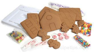 gingerbread house making kit how to make a gingerbread house how to cooking tips recipetips com