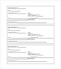 rent receipt template for word rent receipt template 13 free word excel pdf format