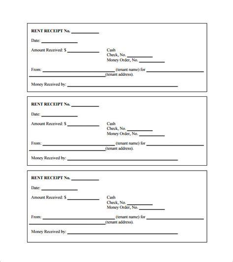 rent receipt templates    premium templates