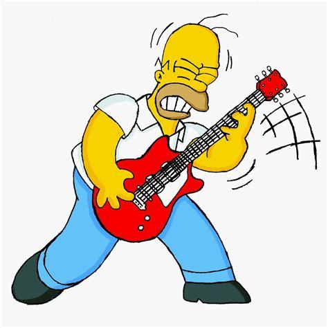 imagenes homero rockero el rock en los simpson el trasfondo cr 237 tico de los simpson