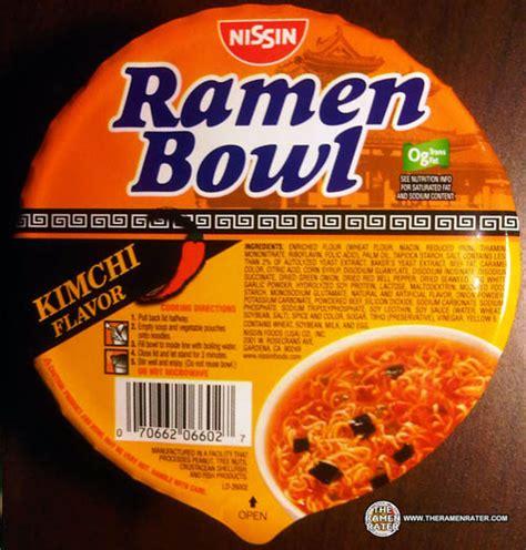 Ramen Kimchi Go 667 nissin ramen bowl kimchi flavor the ramen rater