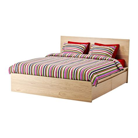Malm Bed With Drawers by Malm High Bed Frame 4 Storage Boxes