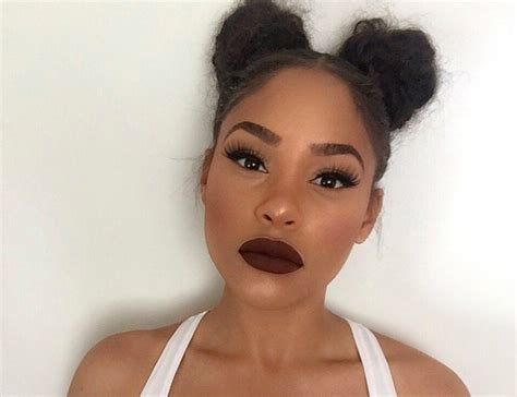 two buns hair tumblr this beauty vlogger just brought back 90s janet jackson hair