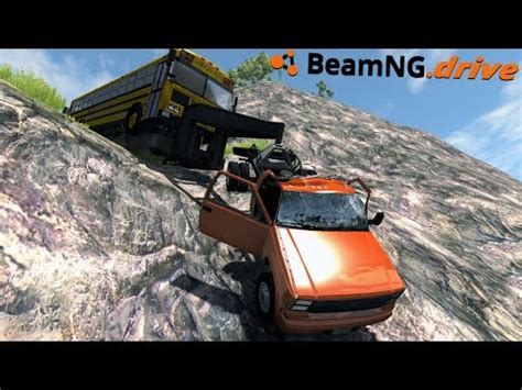 beamng.drive fuel trailer jumps bridge vidoemo