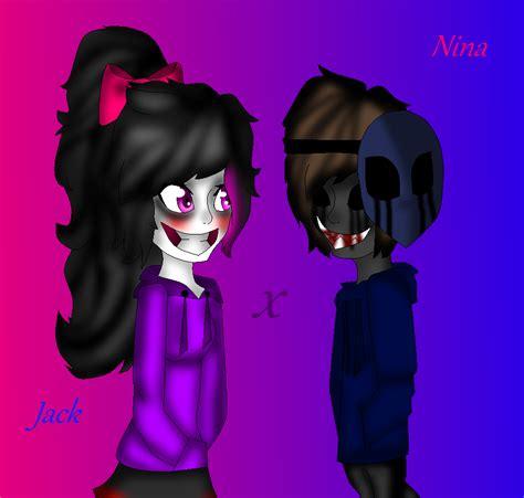 imagenes de eyeless jack x nina the killer nina the killer x eyeless jack by alethemurderess on