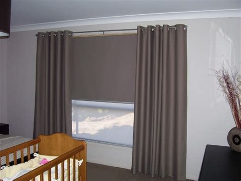 curtain and blind installation installing blackout curtains over blinds curtain