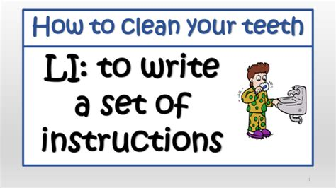 how to clean your s teeth writing how to clean your teeth by k uk teaching resources tes