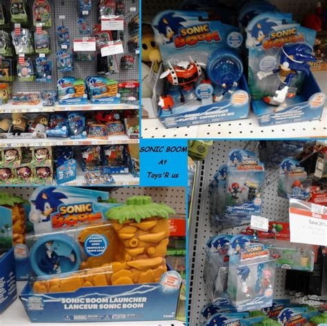 x figures toys r us sonic boom at toys rus by manickatie2 on deviantart