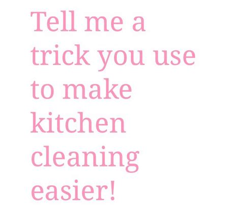 kitchen cleaning tips to do each day ad musely