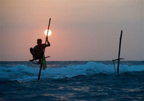 imagenes graciosos de pescadores descubre los pescadores zancudos de sri lanka