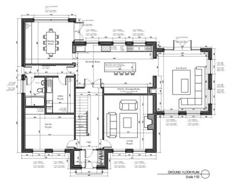 simple layout of a house house layout design oranmore co galway house