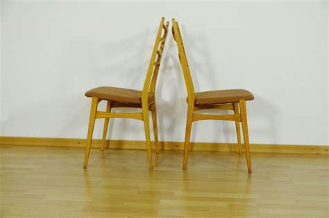 stuhl 60er design 2x stuhl polsterstuhl esszimmer st 252 hle design
