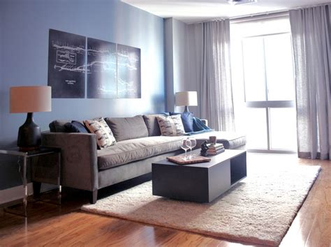 Manly Living Room by Masculine Living Room Blue Canopy Design