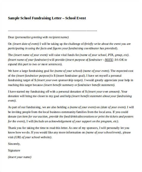 Fundraising Letter To Local Businesses School Fundraising Letter To Local Businesses Docoments Ojazlink