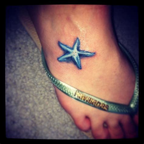 small ocean themed tattoos my new starfish d lovely awesome