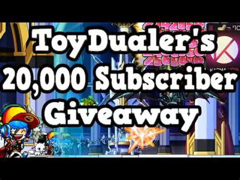 Karma Koin Giveaway - toydualer s 20 000 subscriber karma koin giveaway youtube