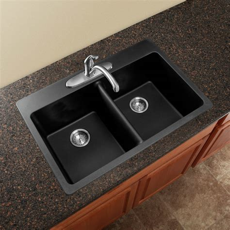 overmount kitchen sinks kitchen black modern square bowl overmount kitchen