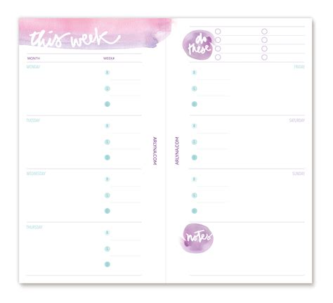 free 2015 personal planner printable printables perpetual planner pages spring a bloggism
