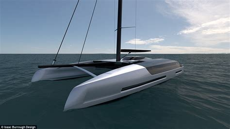 hull design for catamaran sailing catamaran designed by new zealand born isaac