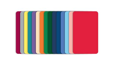 colored pvc blank color pvc cards cr80 30mil
