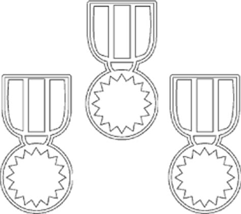Medal Coloring Page Olympic Medal Coloring Page Sketch Coloring Page by Medal Coloring Page