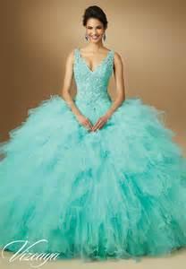 vestidos de quinceañera color aqua vestidos de quincea 241 era color aqua de mori
