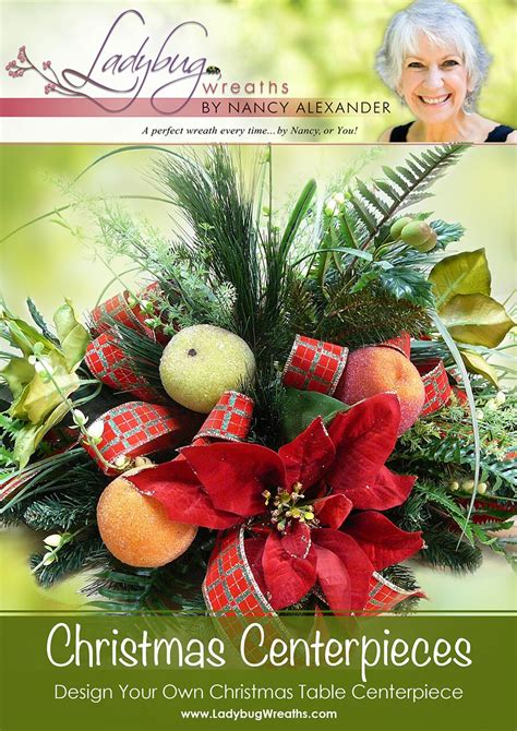 how to a table centerpiece table centerpiece ladybug wreaths by nancy