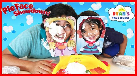 New Pie Challenge Murah pie showdown challenge and egg toys for