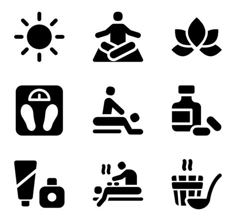 Where Can I Use A Spa And Wellness Gift Card - interface 61 free icons svg eps psd png files