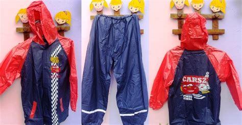 New Jas Hujan Anak Setelan new jas hujan stelan anak karakter