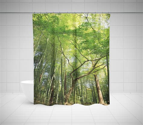 curtain tree tree shower curtain birch shower curtain palm shower