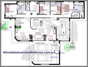 Cheap 4 Bedroom House Plans by Affordable House Plans 3 Bedroom Submited Images