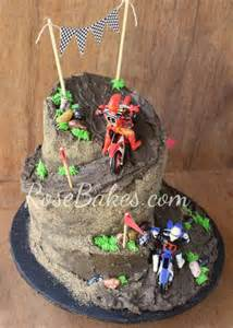 Decorator Icing Dirt Bike Racing Cake Rose Bakes