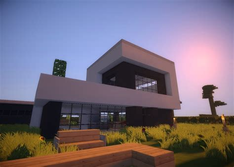 haus house minecraft modern house 8 modernes haus hd youtube