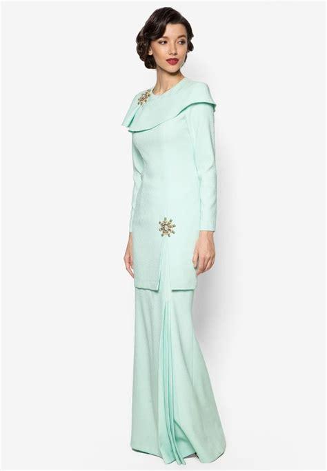 Terkini Mini 3 kaila baju kurung from jovian mandagie for zalora in green 2 1 luxury pluto green closet
