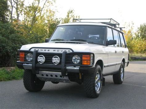 how make cars 1993 land rover range rover classic electronic valve timing extremeautos 1993 land rover range rover specs photos modification info at cardomain