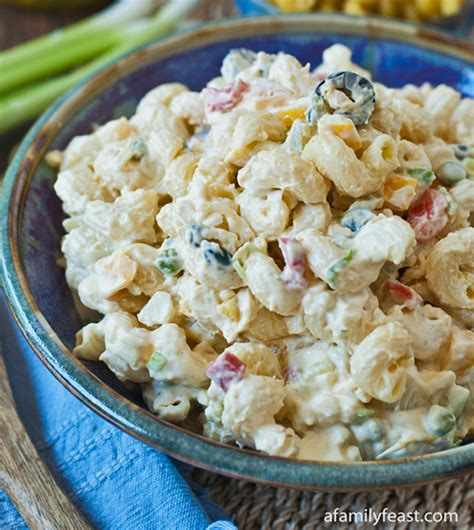 macaroni salad recipes macaroni salad recipe recipechart com
