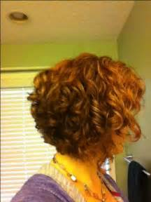 pictures of the back of curly stacked hair curly stacked bob red its all about the hair