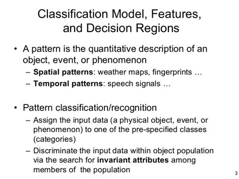 pattern classification using ann ann chapter 3 single layerperceptron20021031