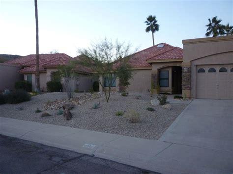 front yard desert landscape