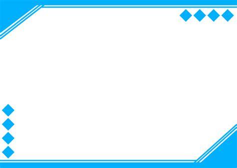 design grafis power point pin membuat sertifikat atau piagam dengan bingkai yang
