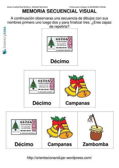 test memoria alzheimer memoria visual para ineverycrea con motivos de navidad
