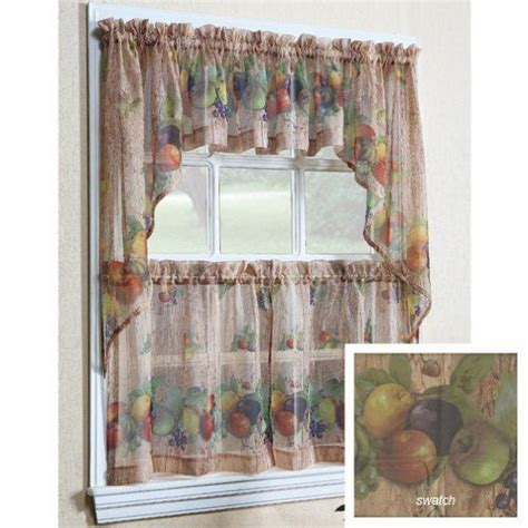 fruit kitchen curtains pin by barbo on home kitchen
