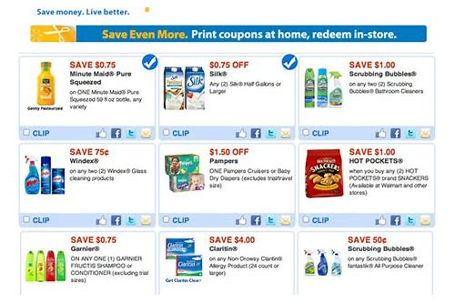 coupon for walmart photo