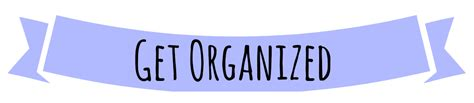 Get Organised by Quotes Books Etc