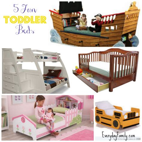 fun toddler beds transitioning your child from crib to bed 5 fun toddler beds everydayfamily