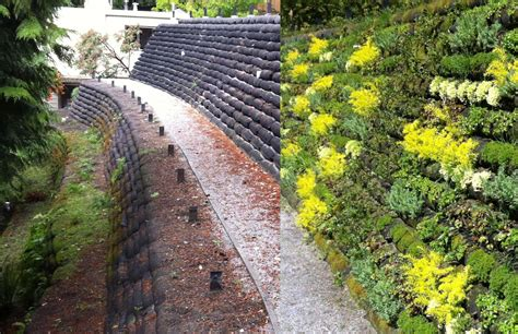 new flex mse vegetated wall system offers eco friendly