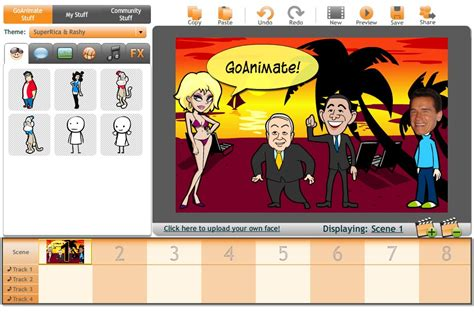8 Free Resources For You To Make An Online Video Easily Free Goanimate Alternatives